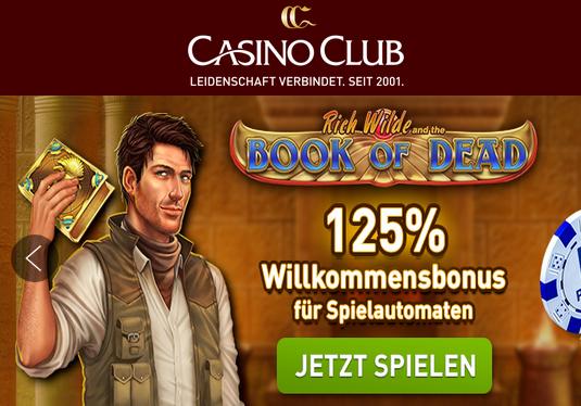 Neue Slots im CasinoClub