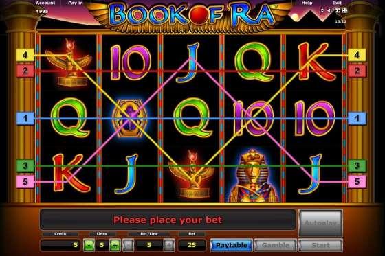 beste online casinos mit book of ra